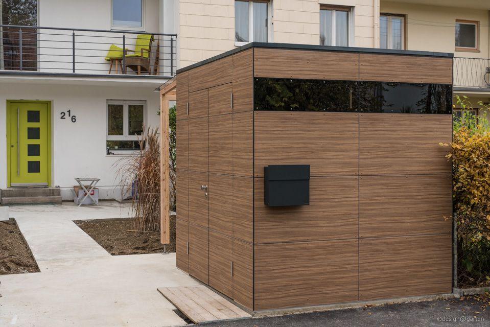 Gartenhaus Augsburgfrench Walnut Design gartenhaus