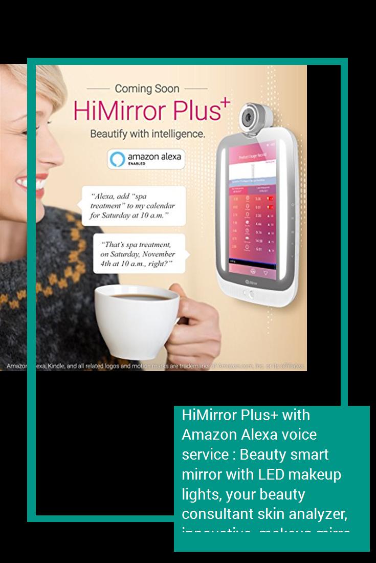 HiMirror Plus+ with Amazon Alexa voice service Beauty