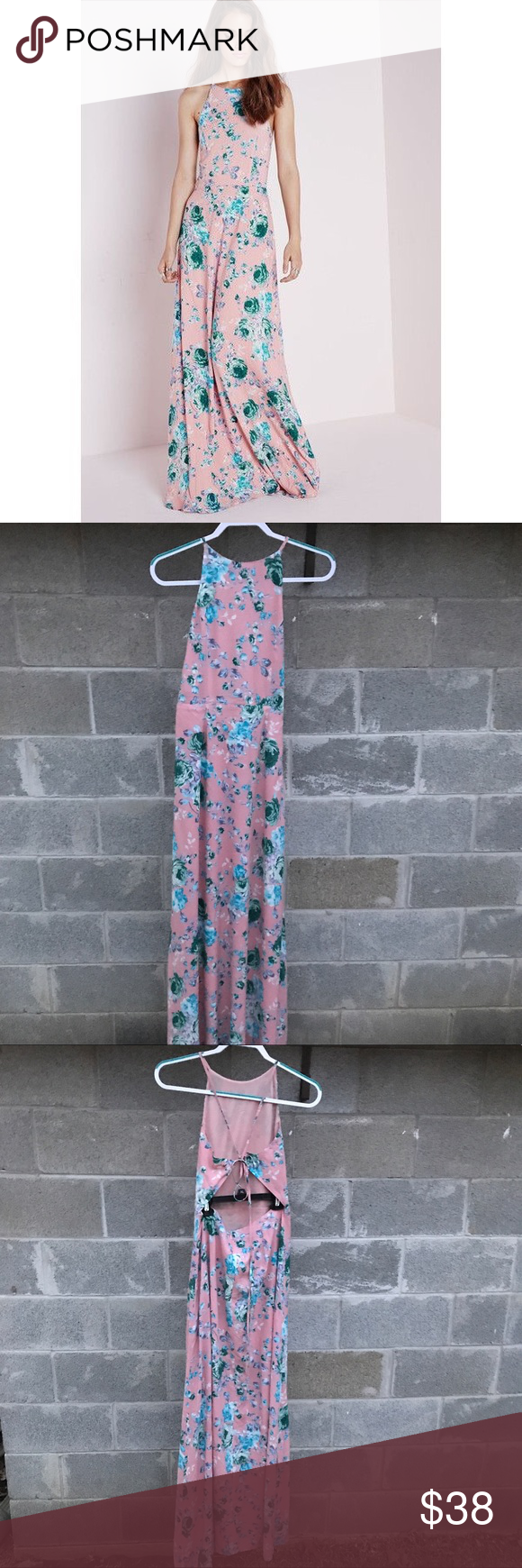 Missguided Peach Strappy Wedding Guest Maxi Dress Maxi Dress Maxi Dress Wedding Guest Dresses [ png ]