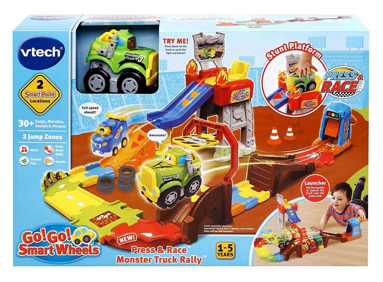 VTech Go Go Smart Wheels Press Race Monster Truck Rally