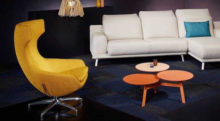 wohnzimmergestaltung der trendfarbe orchideen lila, wohnzimmer modern einrichten – 28 designermöbel und ideen, Ideen entwickeln