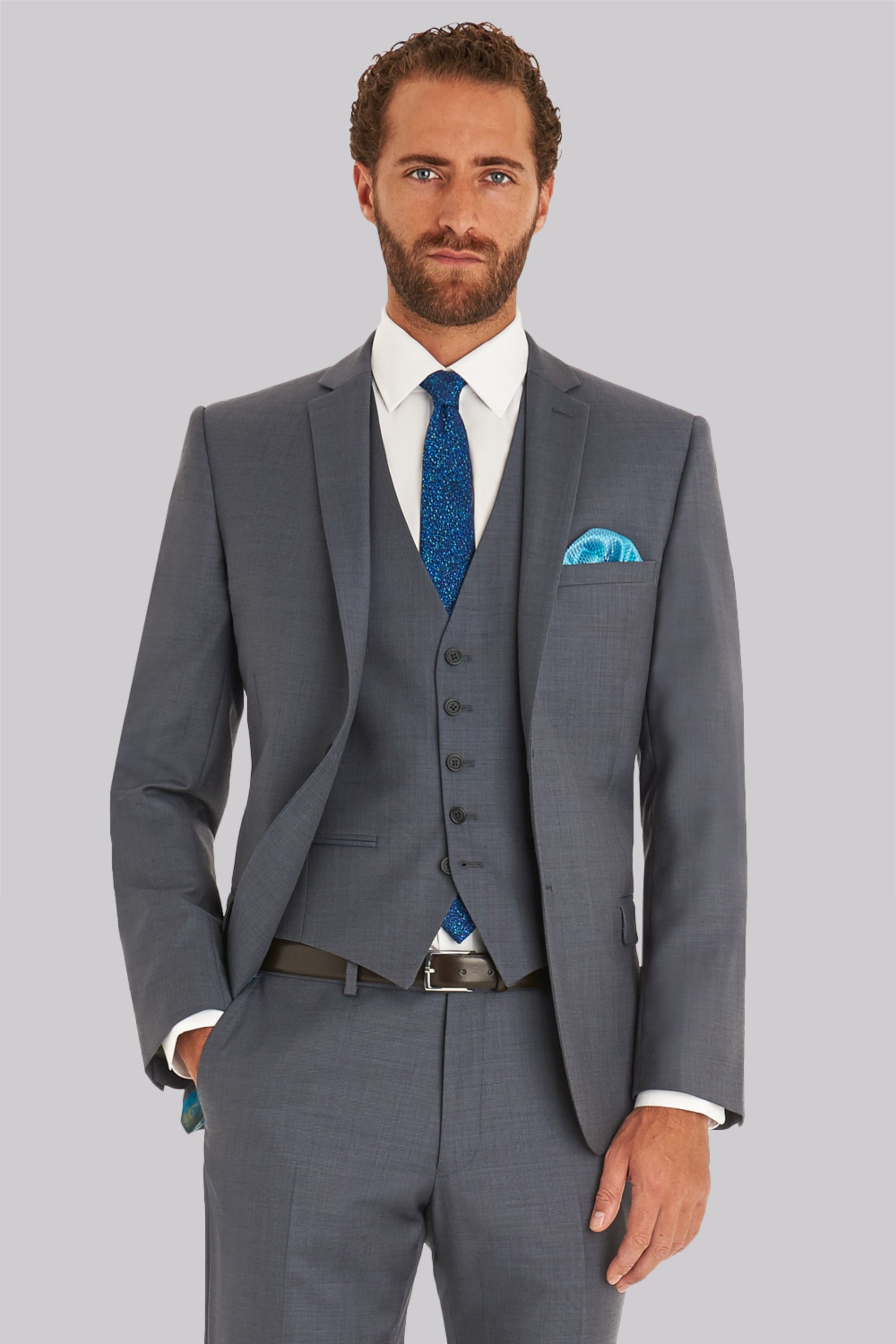 7909139d4e844 Ted Baker Tailored Fit Steel Grey Jacket in 2019