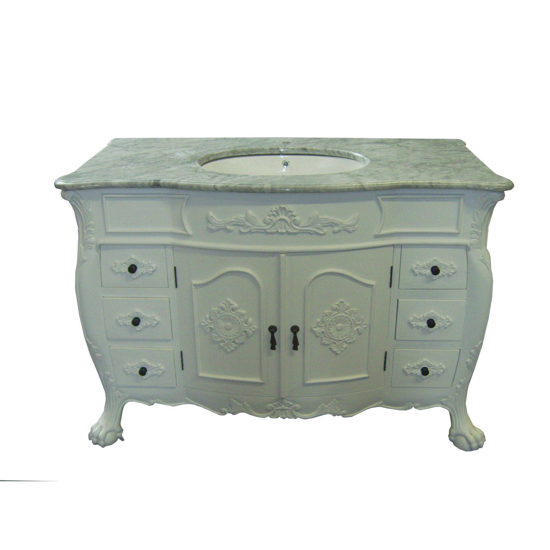 French Style Bathroom Vanity Units Uk  antique french vanity unit photomoskoo com