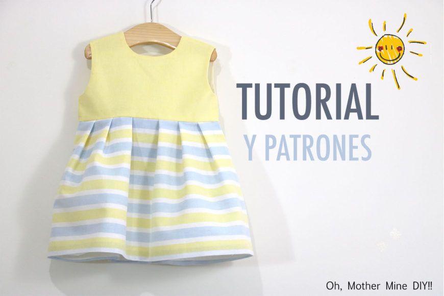 Costura: Vestido niña (patrones gratis talla hasta 8 años) | ropa ...
