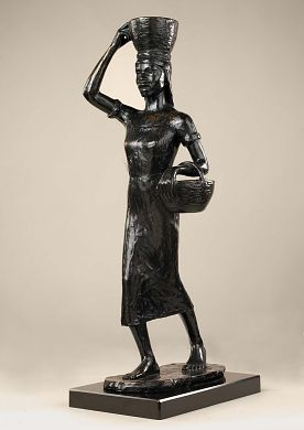 Blackberry Woman, modeled by 1930, cast 1932, Richmond