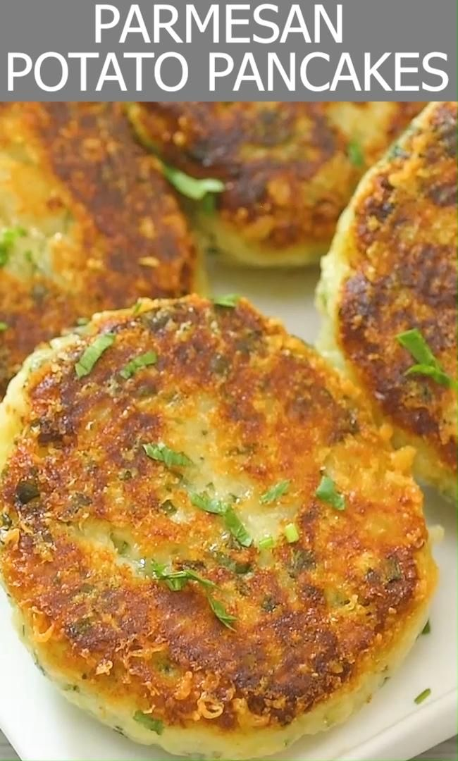 Parmesan Mashed Potato Cakes These Parmesan Mashed