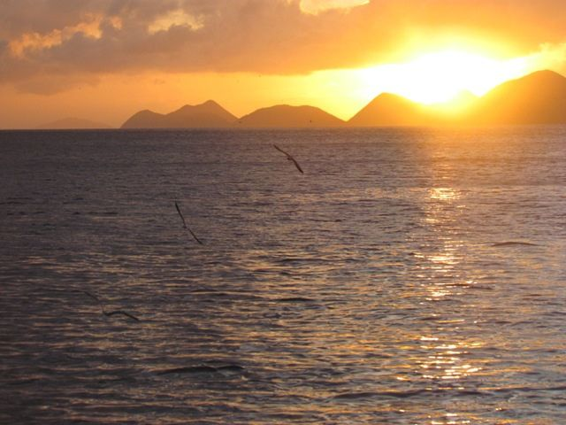 Knot Guilty - Sunset in British Virgin Islands
