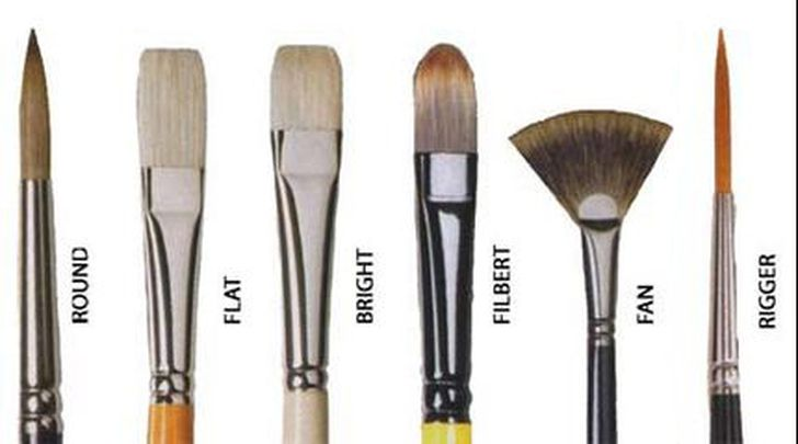 OIL PAINTING BRUSHES