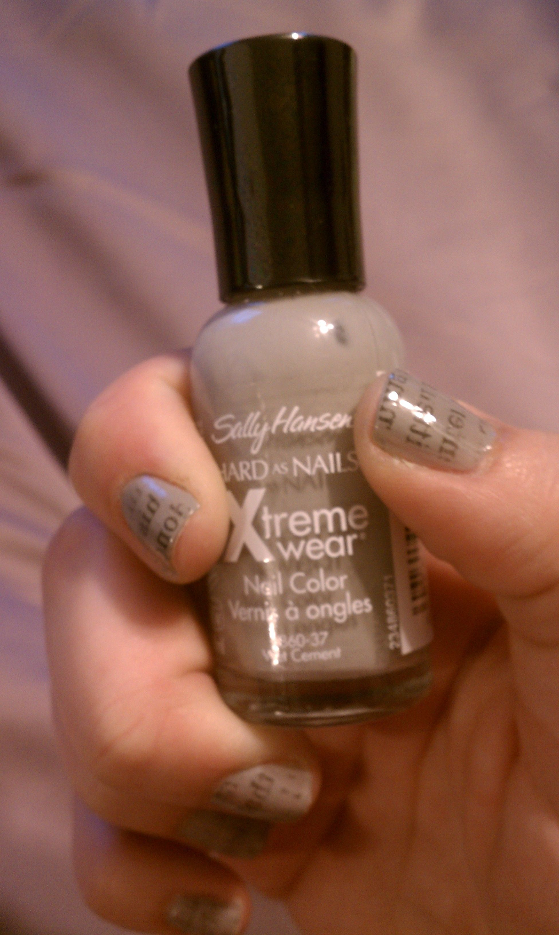 Extra! Extra! Read All About It! | Newsprint nails and Natural nails