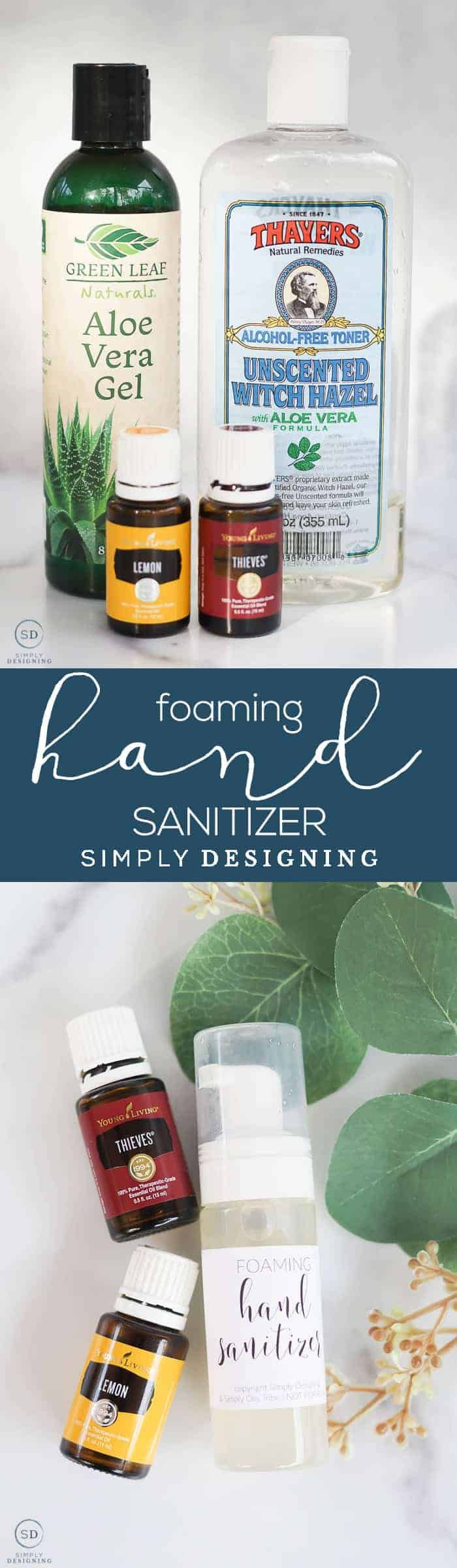 How To Make Foaming Hand Sanitizer Hand Sanitizer Home Made