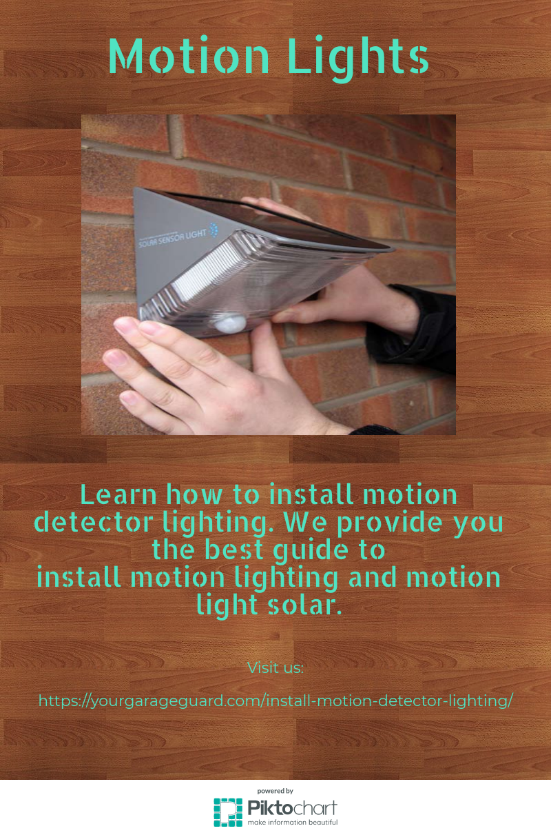 Learn How To Install Motion Detector Lighting We Provide You The Also Wiring Sensor Lights Together With Best Guide