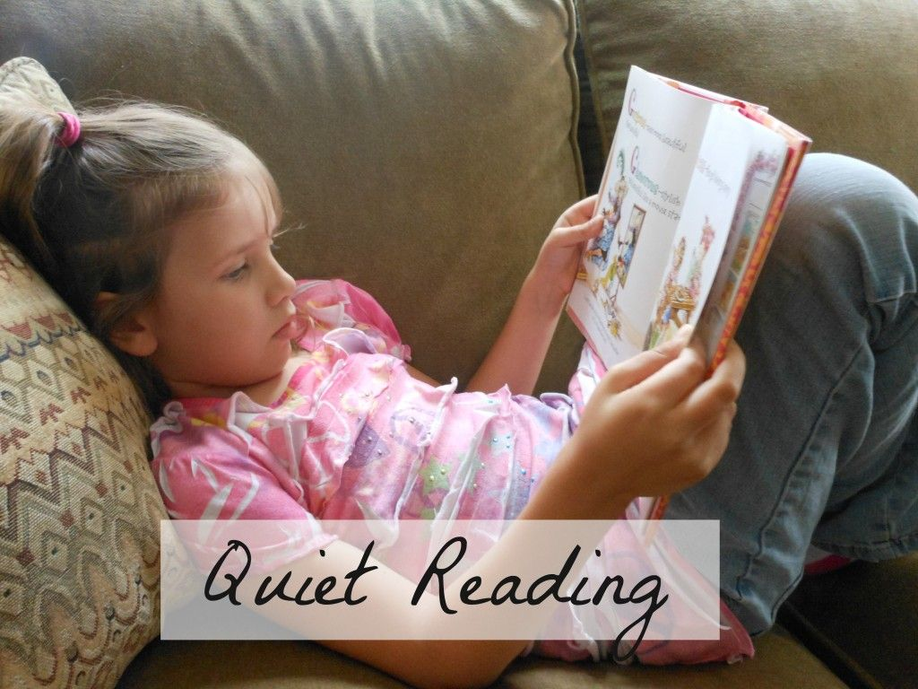 For those of you with young children, what do you think about interactive ebooks for teaching kids to read? quiet-reading-1024x768