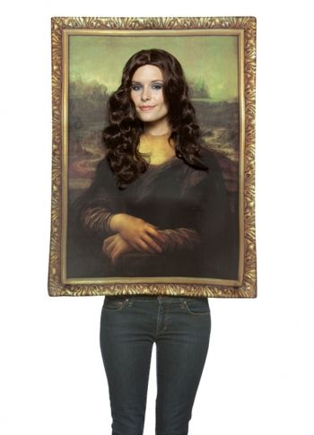 One Size Fits Most Womens Mona Lisa Costume Kit