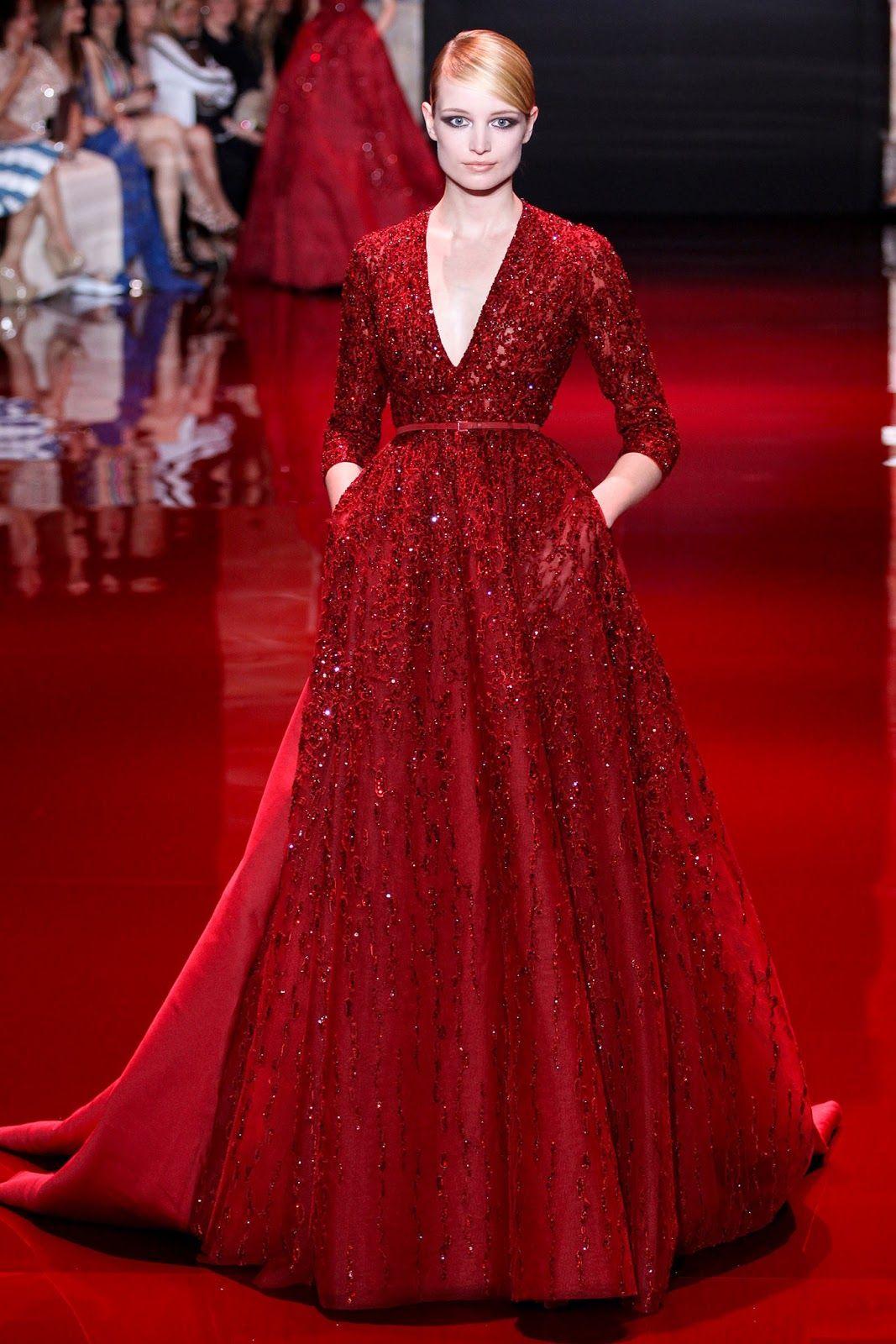 Zsazsa bellagio u like no other elie saab couture moda