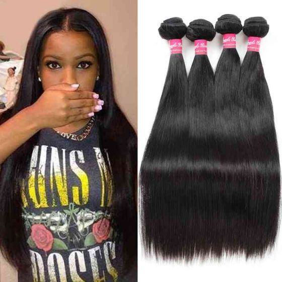 10a Virgin Indian Hair Wholesale Virgin Straight Human Hair Weave