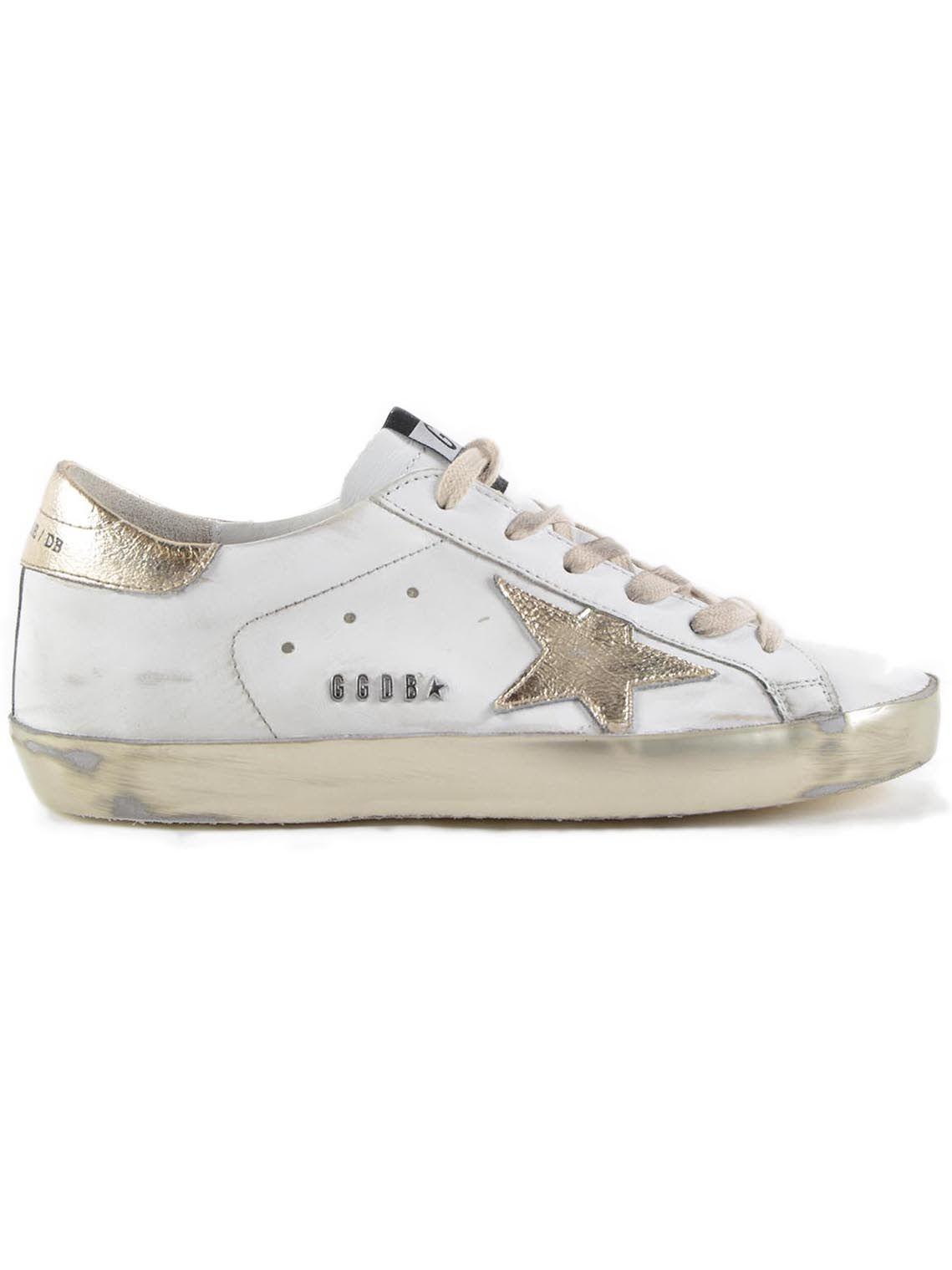Golden Goose Sneakers Superstar Gold