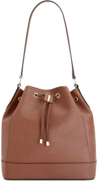 f574d2ab1afdf Love this  Key Item Drawstring Bucket Bag  Lyst