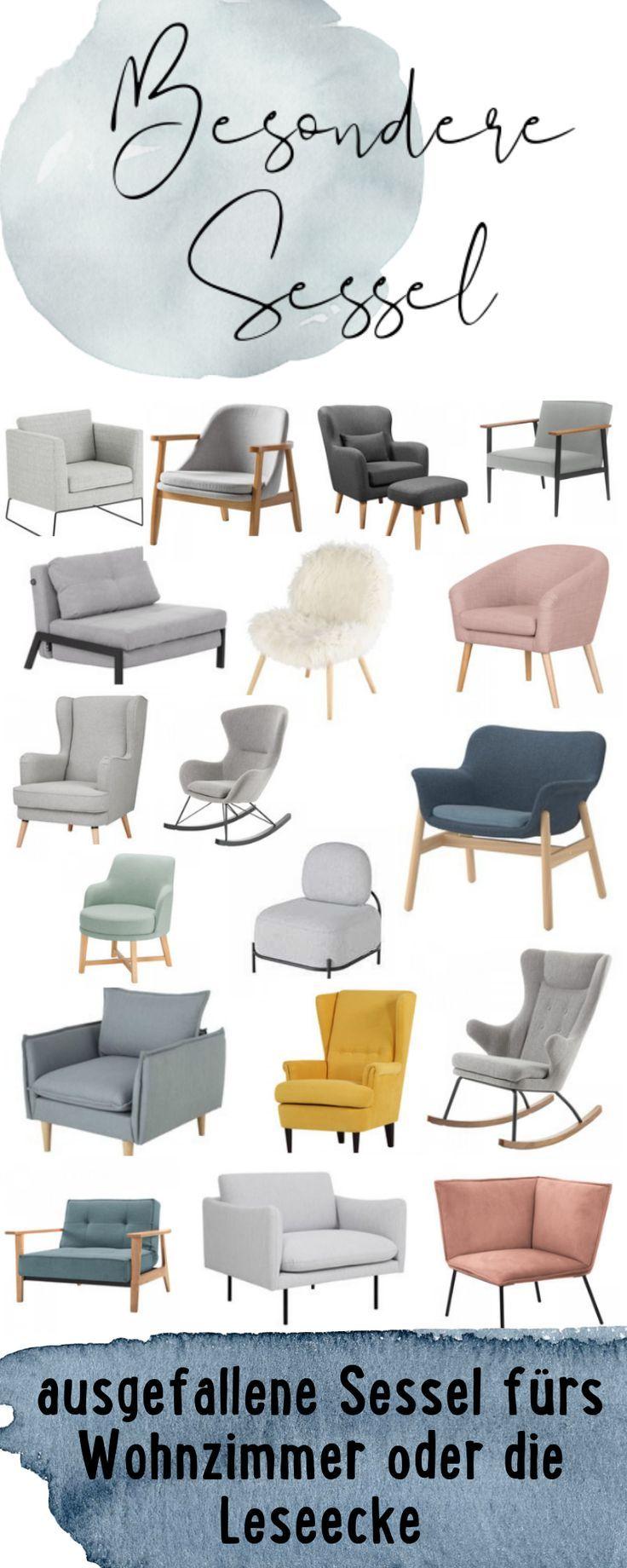 Besondere Sessel für das Wohnzimmer oder die Leseecke | skandinavische Einrichtung #wohnzimmerdeko