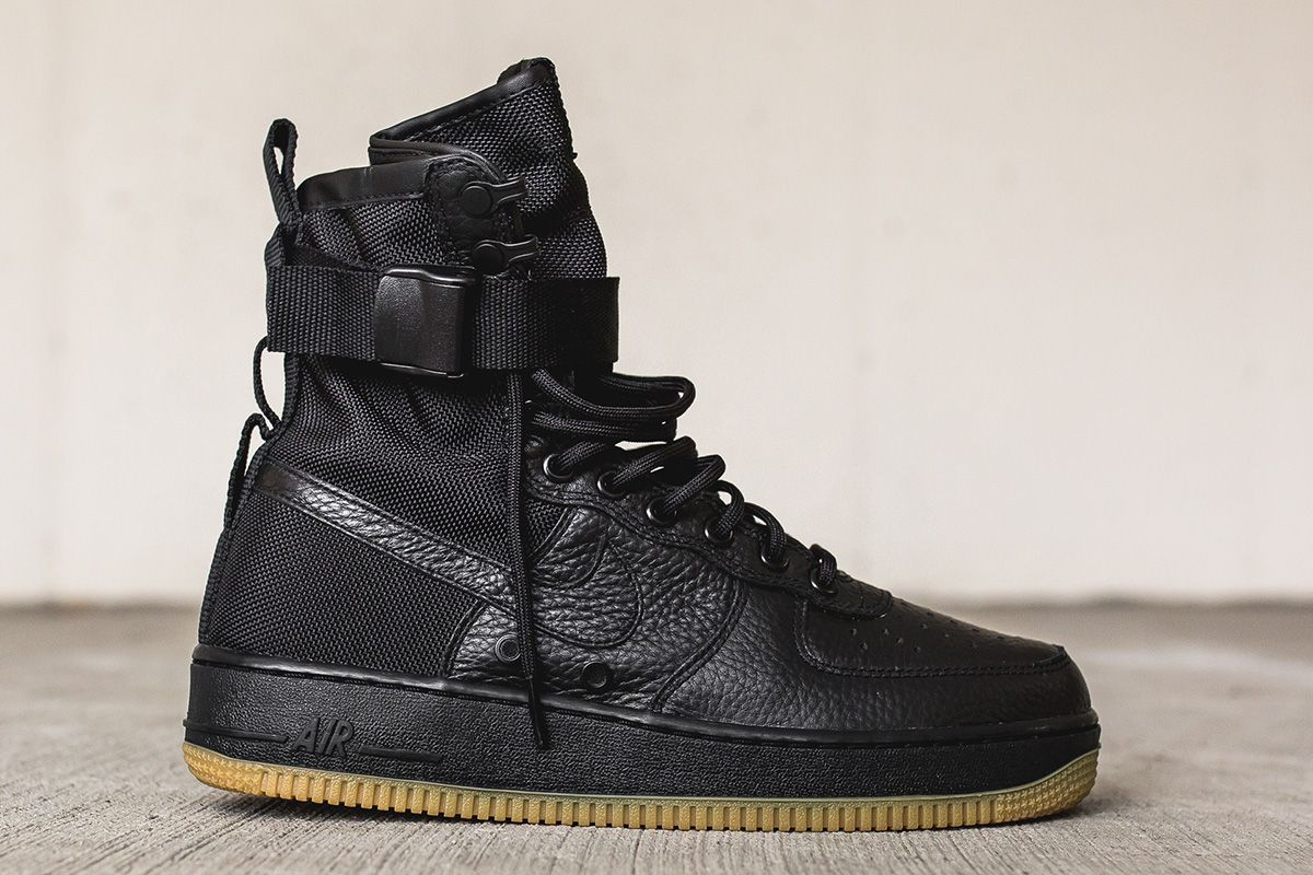 separation shoes aac3f ecda9 ... Pieced together with leather and ballistic nylon, the Special Field  edition Nike Air Force 1 ...