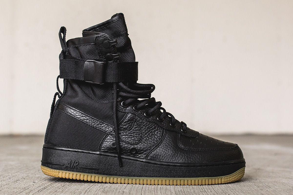 "a5d7d7f8c770 Nike Special Field Air Force 1 ""Black   Gum"" - EU Kicks Sneaker Magazine"