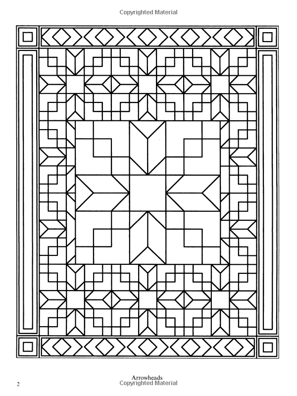 Traditional Patchwork Quilt Designs Dover Design Coloring Books Geometric Coloring Pages Designs Coloring Books Pattern Coloring Pages