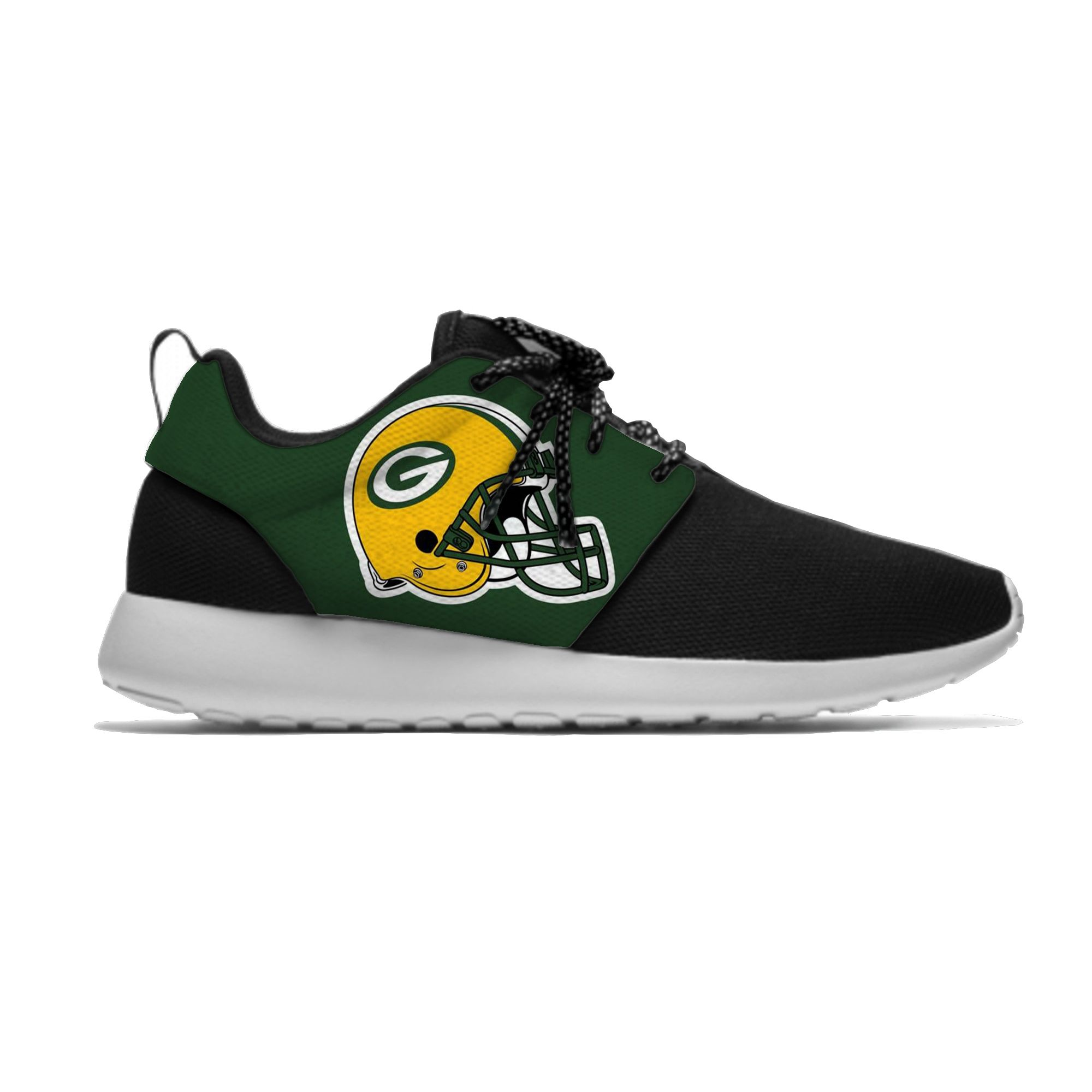 Green Bay Packers Lightweight Sneakers Packers Running Shoes Nfl Green Bay Packers Sh Green Bay Packers Green Bay Packers Shoes Green Bay Packers Merchandise