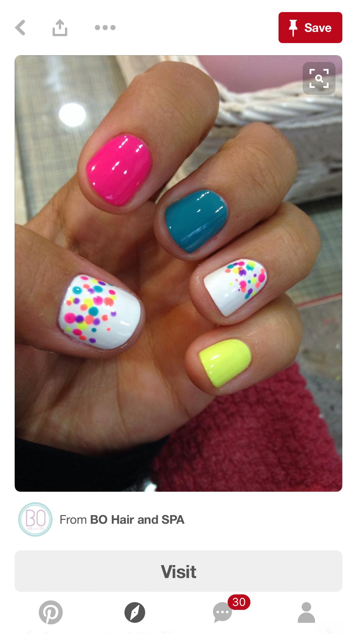 Pin by Megan Klug on Nails | Pinterest | Make up, Nail nail and Manicure