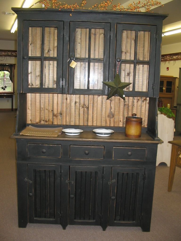 Primitive Kitchen Furniture Primitive Furniture Hoosier Hutch Cabinet Country Farm Kitchen