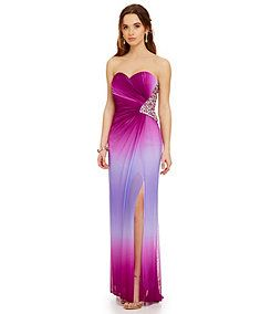 Jump Ombre Bar Back Gown