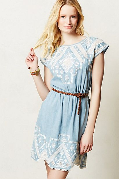 d94bbbdf26 Pin by The Fashion Life on Clothing Cravings | Chambray dress ...