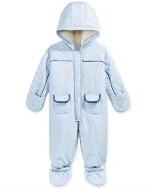 146d8e5379a5 First Impressions Quilted Footed Snowsuit