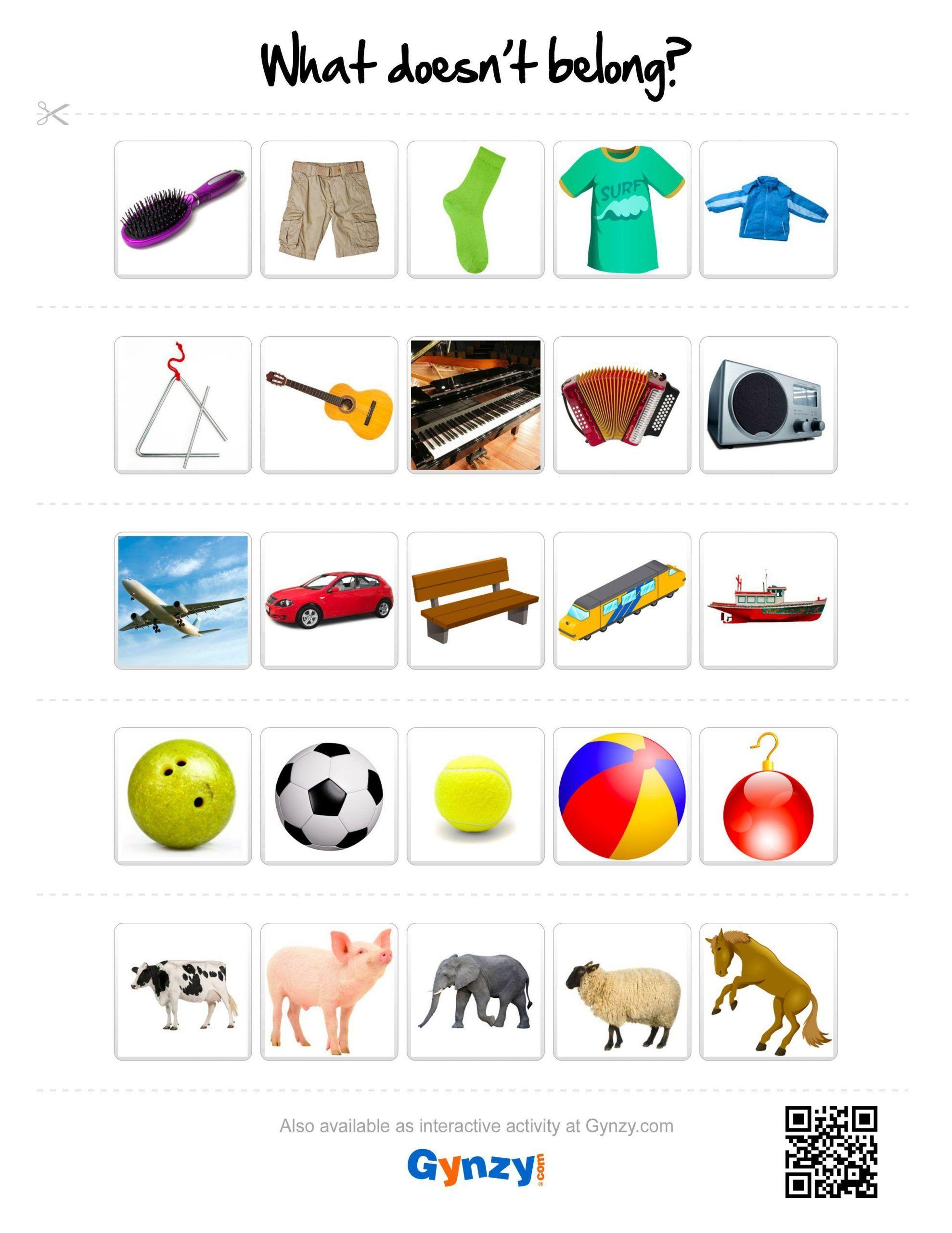 What Doesn T Belong Worksheet 11 Best What Doesn T Belong