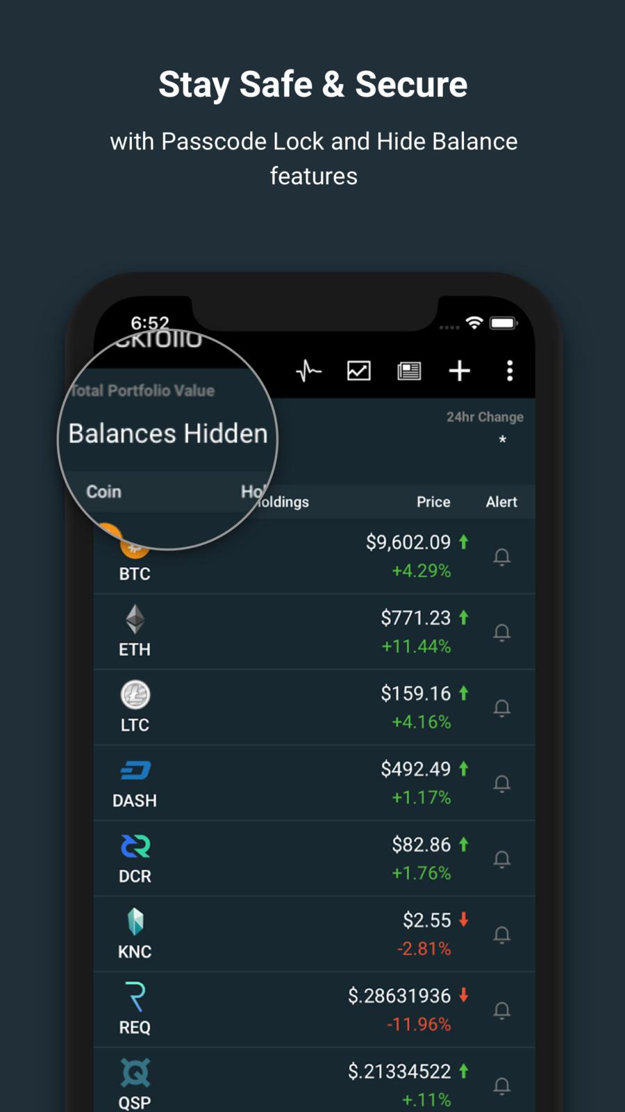 Blockfolio Bitcoin Altcoin App FinanceLLCappsios Ios