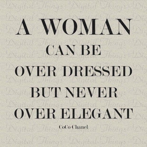 #Coco #Chanel #Style #Elegant #Quote