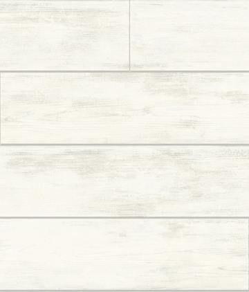 Magnolia Home Shiplap Wallpaper Cool White Magnolia