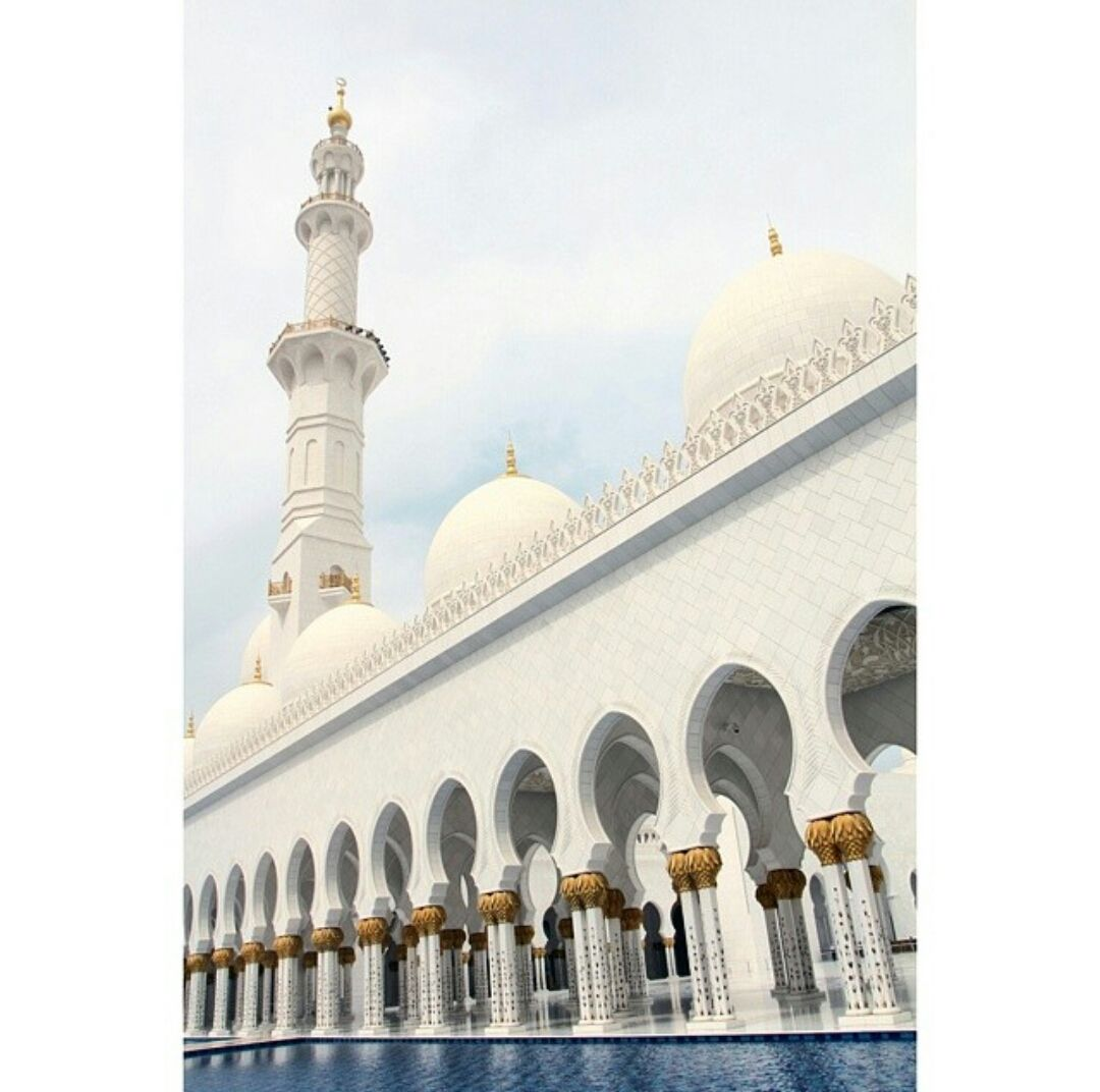 Sheikh Zayed Grand Mosque  is located in Abu Dhabi considered to be the key for worship in the country.