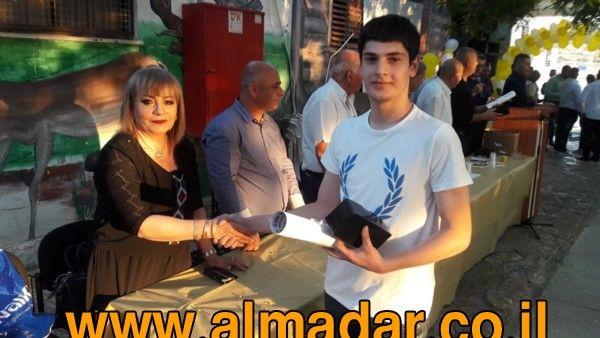 almadar | المدار - اخبار الساعه على مدار الساعه - حفل تخرج الفوج الثاني عشر لطلاب مدرسه عتيد التكنولوجية يركا