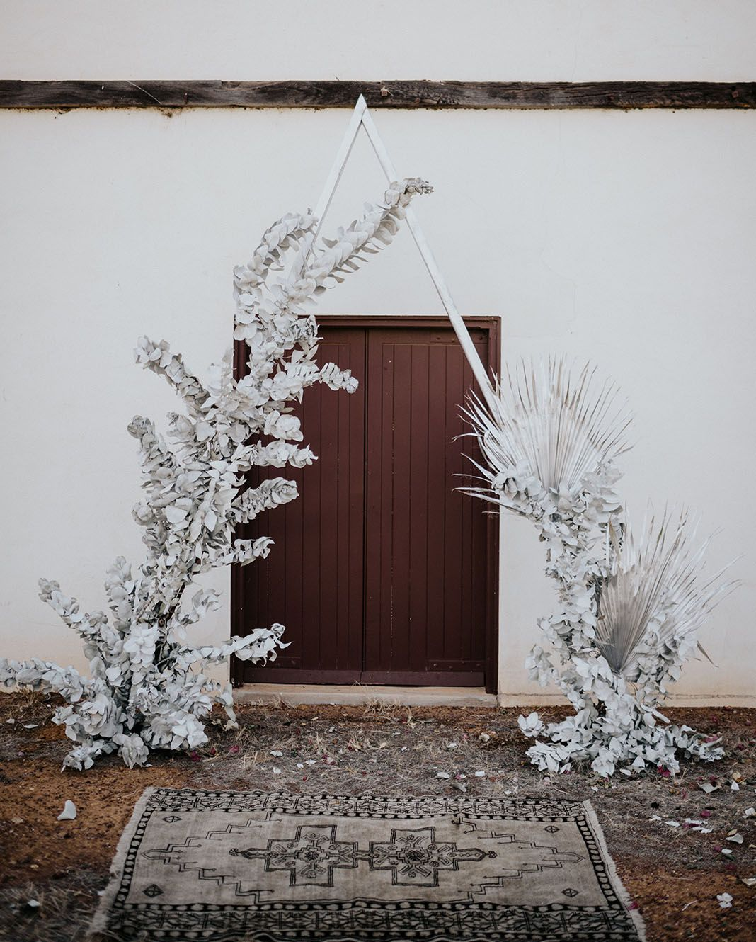 When Stars Align: Silvery Celestial + Rustic Elopement Inspiration in Australias Only Monastic Town