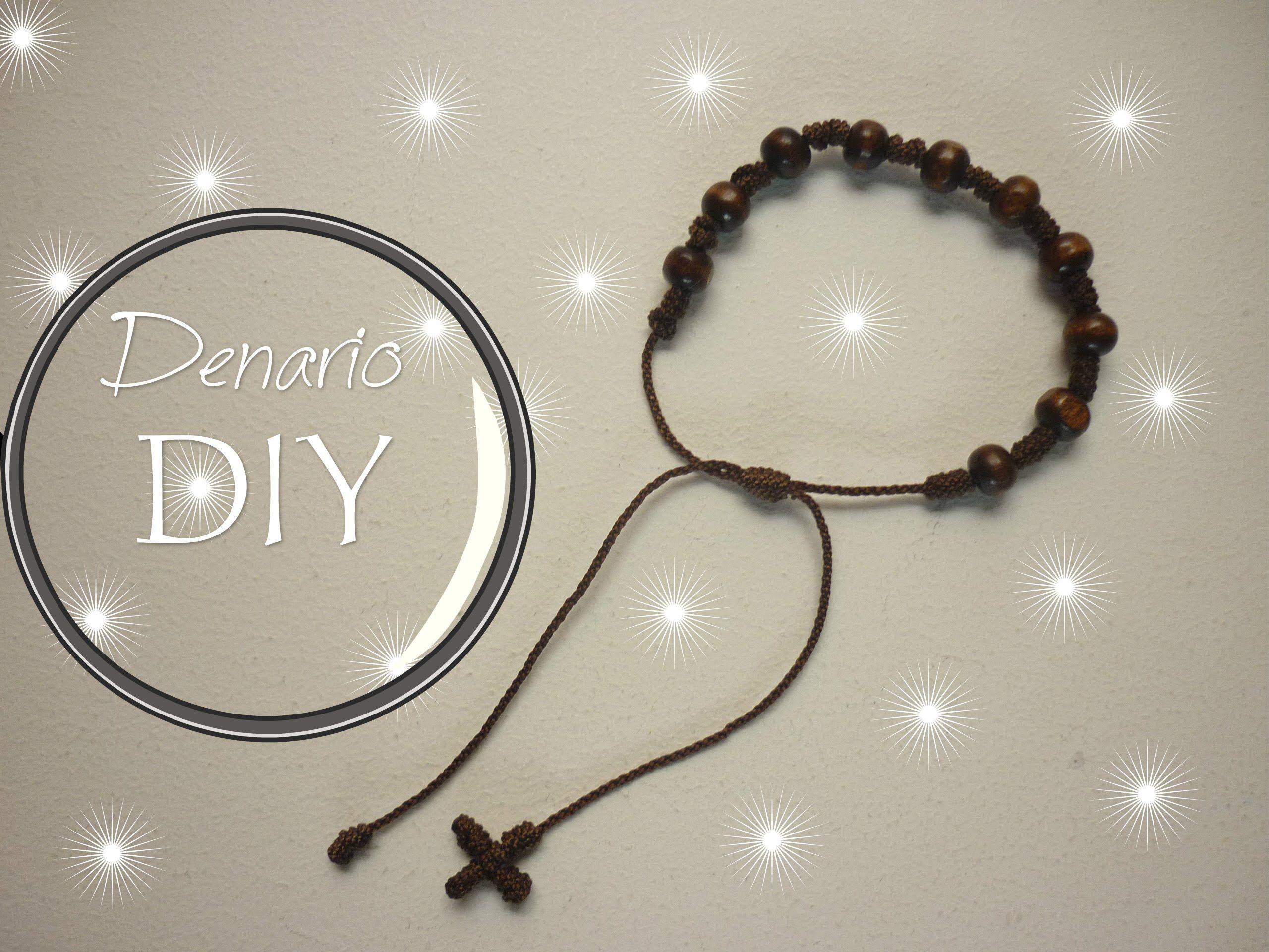 f02b1802b137 Manualidades  Bisuteria (Pulsera Denario con Semillas y Nudo Franciscano.