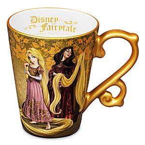 Rapunzel and Mother Gothel Mug - Disney Fairytale Designer Collection | Disney StoreRapunzel and Mother Gothel Mug - Disney Fairytale Designer Collection - You'll get a taste of the adventurous life every morning while sipping from Rapunzel's elegant hot beverage mug with golden trims, which is part of our Disney Fairytale Designer Collection.