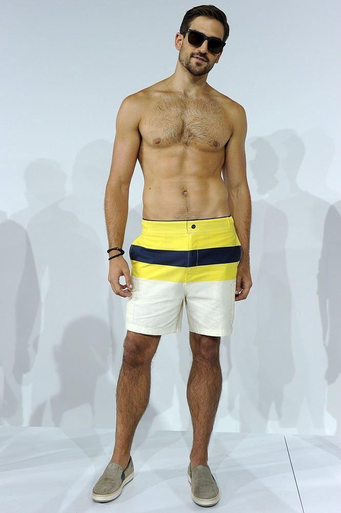 Man In Zwembroek.Nautica Spring Summer 2016 New York Fashion Week Men S Mr