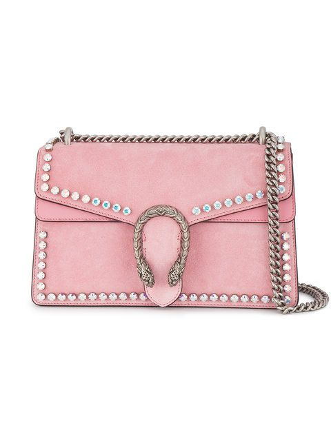 b883f0e2807 GUCCI Dionysus studded shoulder bag.  gucci  bags  shoulder bags  crystal   suede  lining