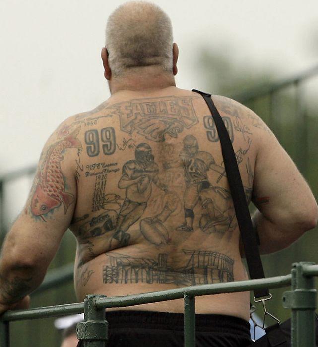 Philadelphia Eagles Tattoos