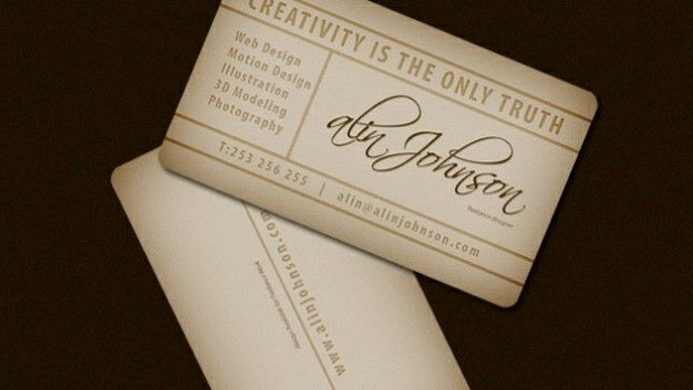 Presentation vintage business card template shop ideas presentation vintage business card template reheart Gallery