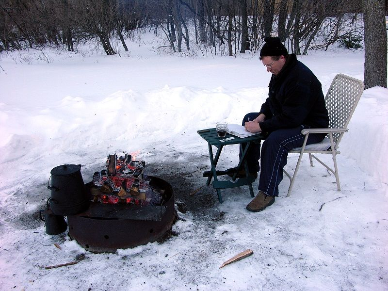 Get In Touch With Nature With A Winter Camping Trip In Door County Wisconsin Camping