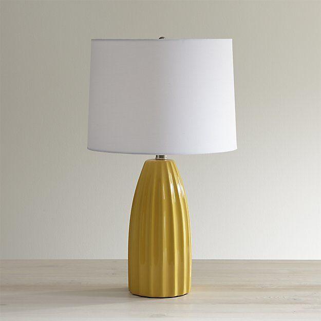 Ella Golden Yellow Table Lamp   Crate And Barrel