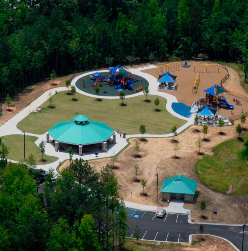 Deshong Park Skate Park Park Playground