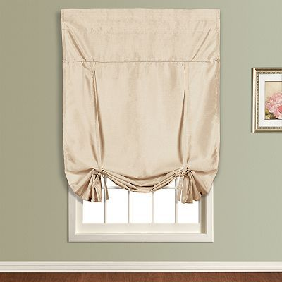 At Kohls Shade Is 40 X 63 Tie Up Shades Curtains Tie Up