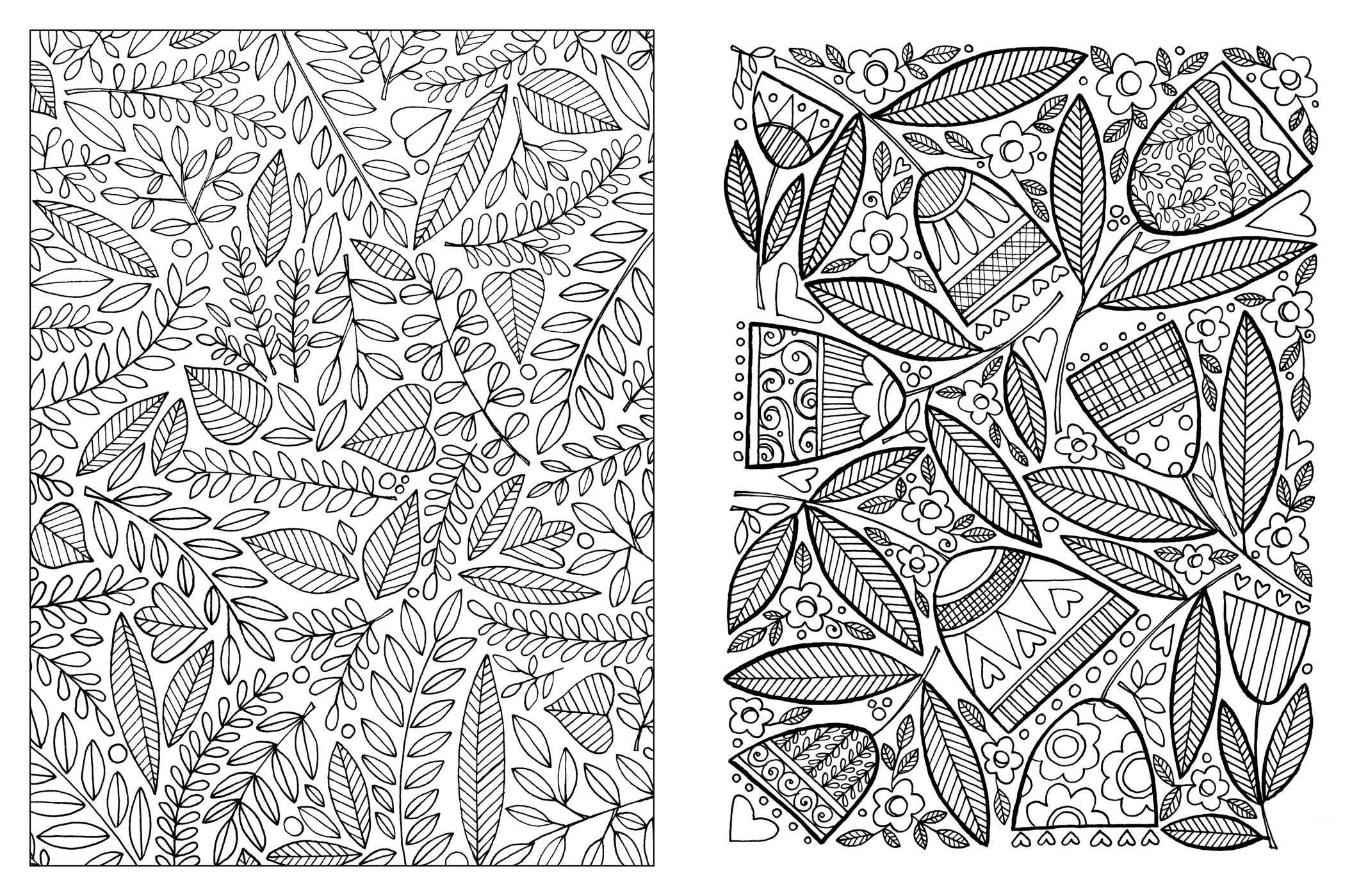 Amazon Posh Adult Coloring Book Inspired Garden Soothing Designs For Fun