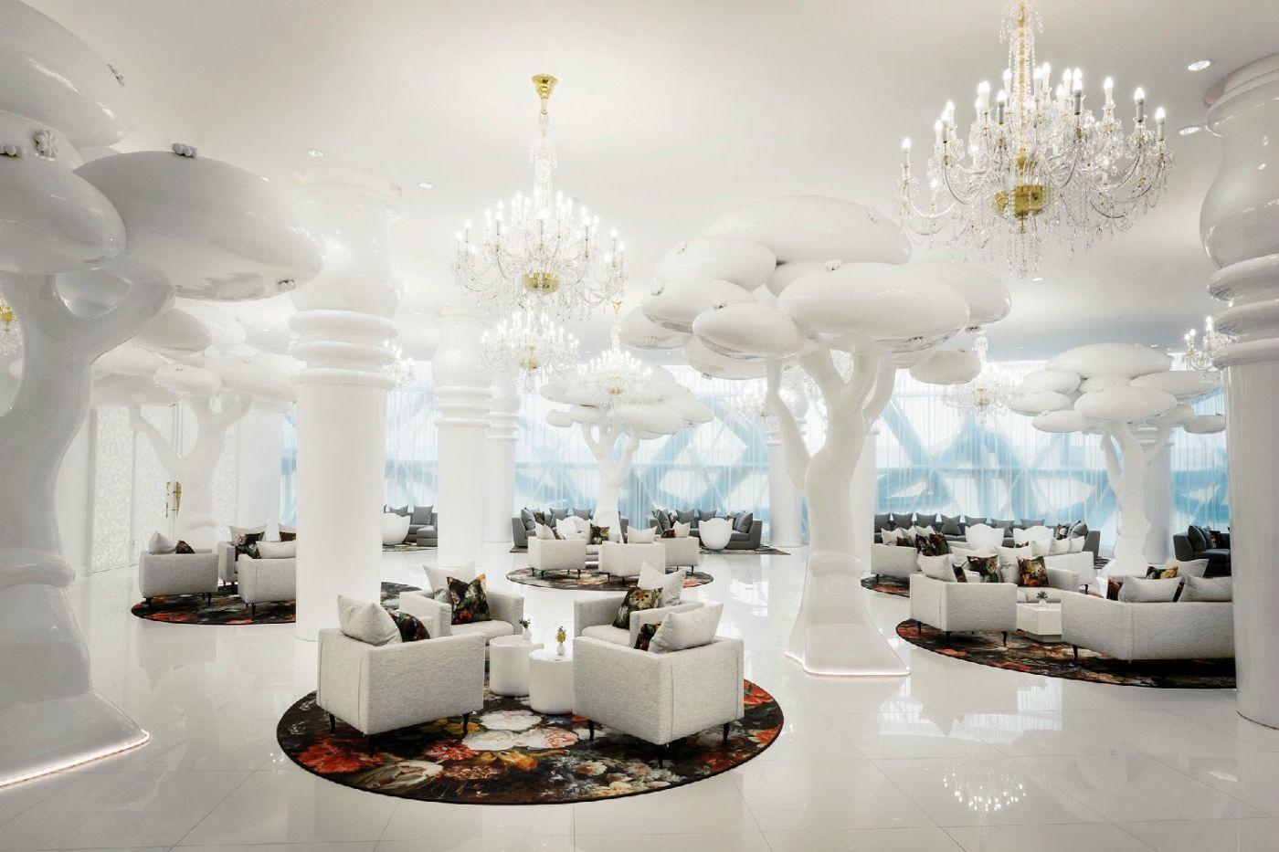 The Mondrian Doha A Luxury Hotel Project By Marcel Wanders